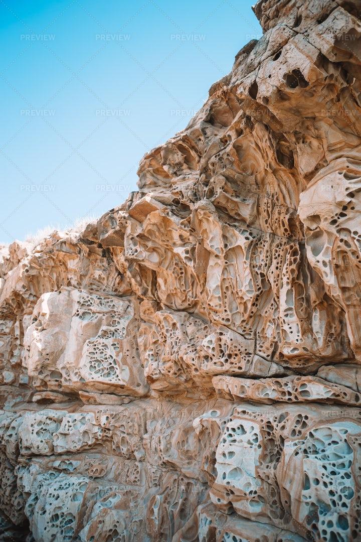 Cheese Rock, Black Sea, Crimea: Stock Photos