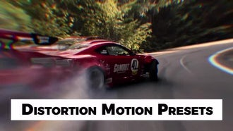 Distortion Motion Presets: Premiere Pro Presets