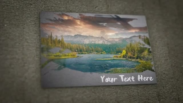 Paint Brush Paper Slideshow 4K: After Effects Templates