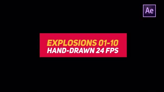 Liquid Elements 2 Explosions 01-10: After Effects Templates