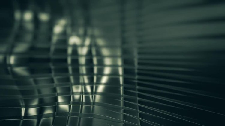 Undulating Dark Metal Background: Stock Motion Graphics