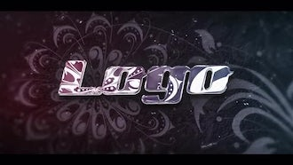 Ornament Style Logo: After Effects Templates