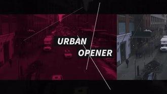Urban Opener: Premiere Pro Templates