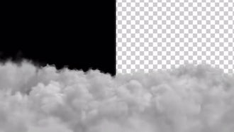Clouds With Alpha Channel: Motion Graphics
