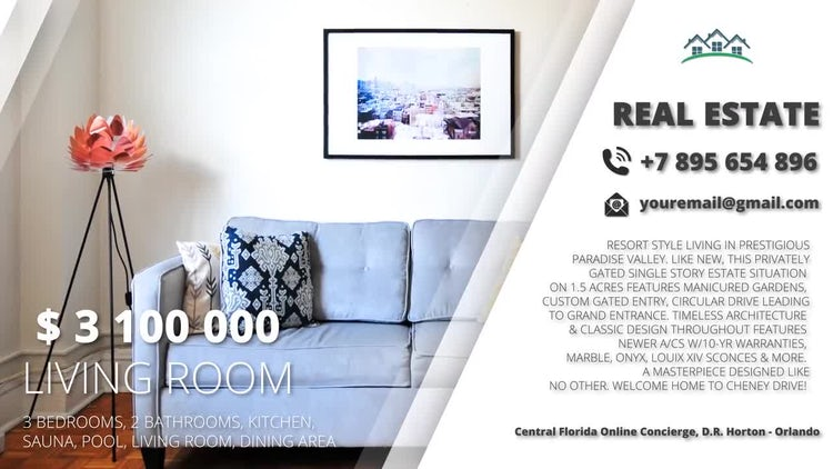 Real Estate: After Effects Templates