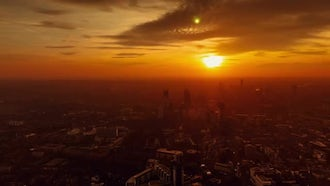 Time-lapse Of London At Dusk: Stock Video