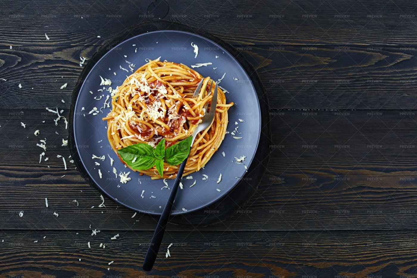 Italian Spaghetti Pasta: Stock Photos