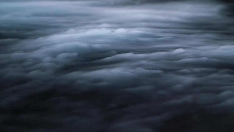 Aerial View Of White Clouds: Stock Video