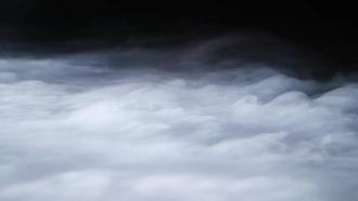 Fog On Black Background: Stock Footage