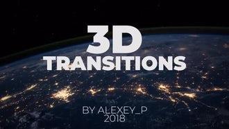 3D Transitions: Premiere Pro Templates