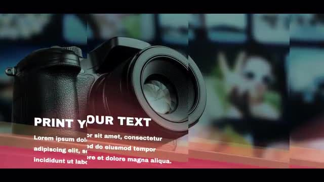 Glitch Corporate SlideShow: After Effects Templates