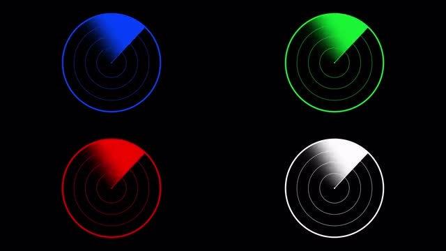 Radar Pack: Stock Motion Graphics