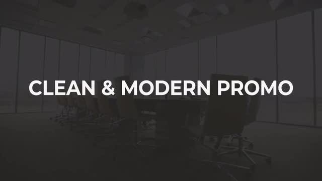 Clean & Modern Promo: After Effects Templates