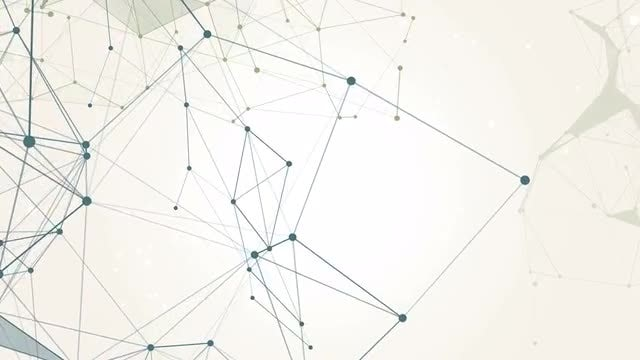 Connected Nexus Background: Stock Motion Graphics