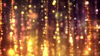 Gold Curtains Looping Background: Motion Graphics
