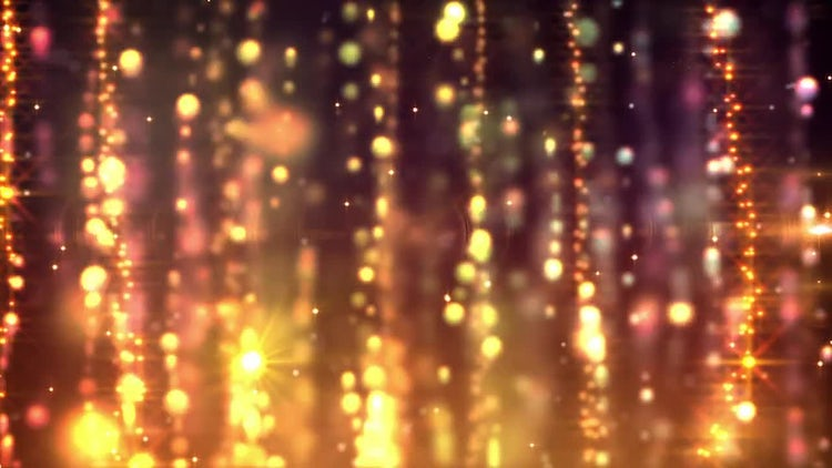 Gold Curtains Looping Background: Stock Motion Graphics