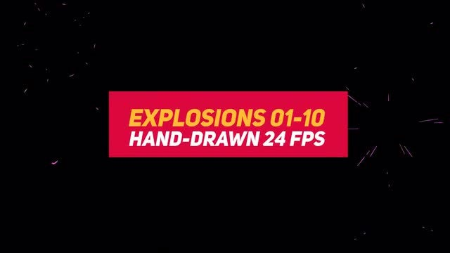 Liquid Elements 2 Explosions 01-10: Stock Motion Graphics