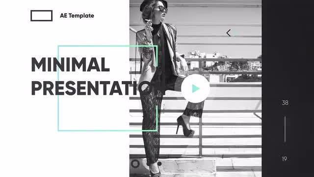 Minimal Presentation: After Effects Templates