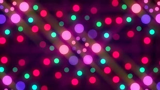 Disco Lights Background: Motion Graphics