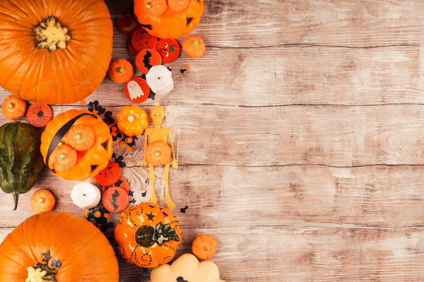 Orange Halloween Background: Stock Photos