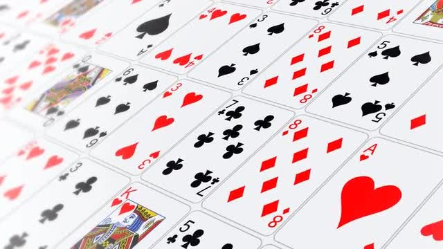Card Poker Background: Stock Motion Graphics