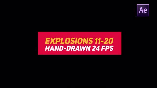 Liquid Elements 2 Explosions 11-20: After Effects Templates