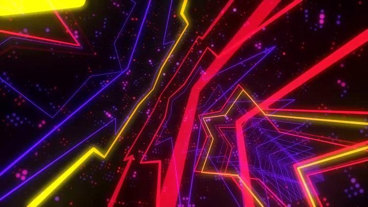 Disco Stars Dance: Stock Motion Graphics