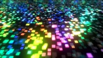 Neon Pixels Dance: Motion Graphics