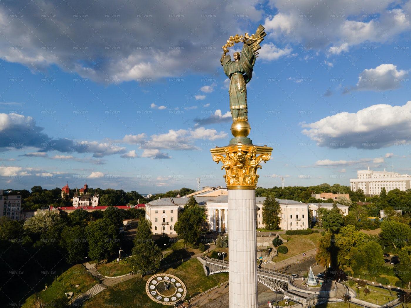 Symbol Of Kyiv: Stock Photos