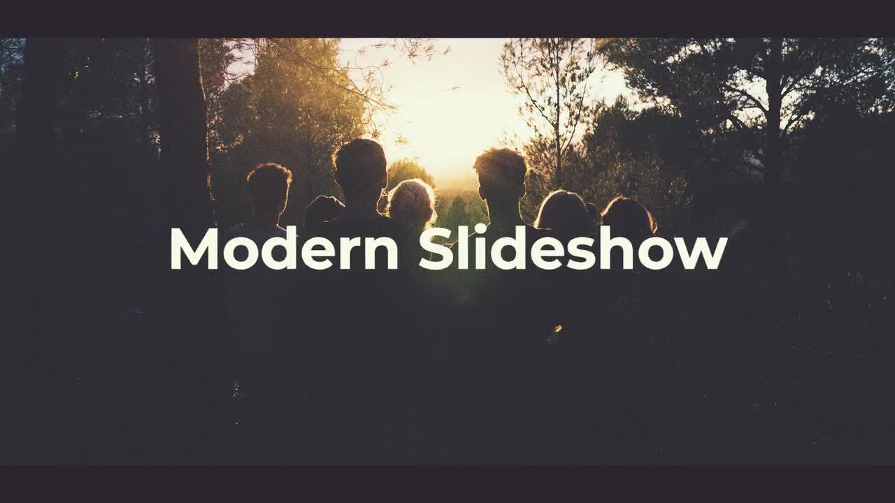 Modern Slideshow Premiere Pro Templates 58835