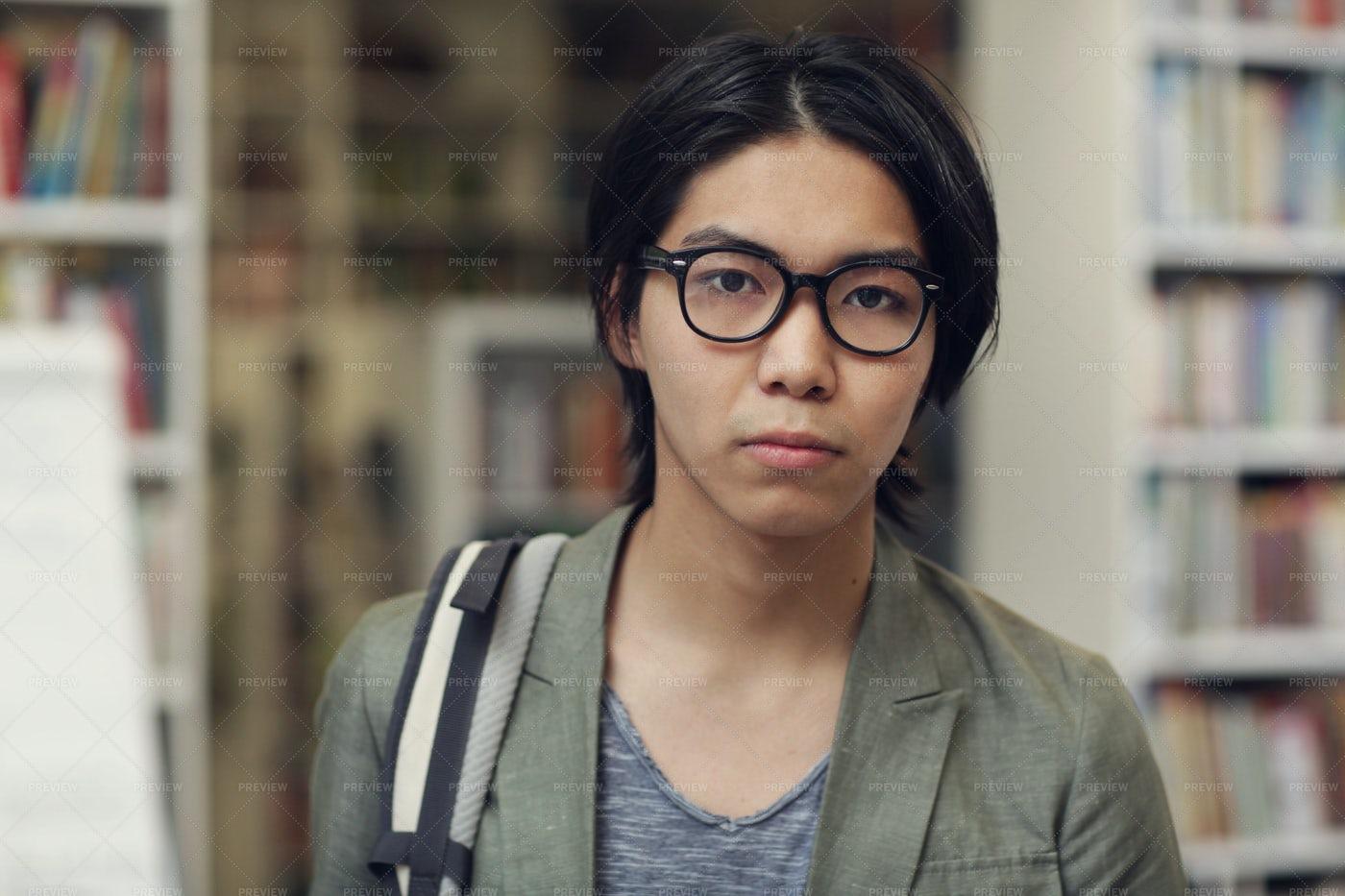 Student Man Portrait: Stock Photos