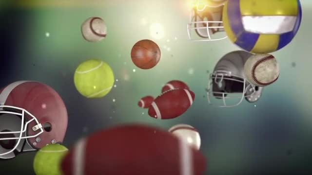 Amazing Sports Animated Background: Stock Motion Graphics