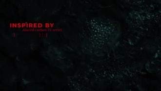 Altered Carbon Titles: After Effects Templates