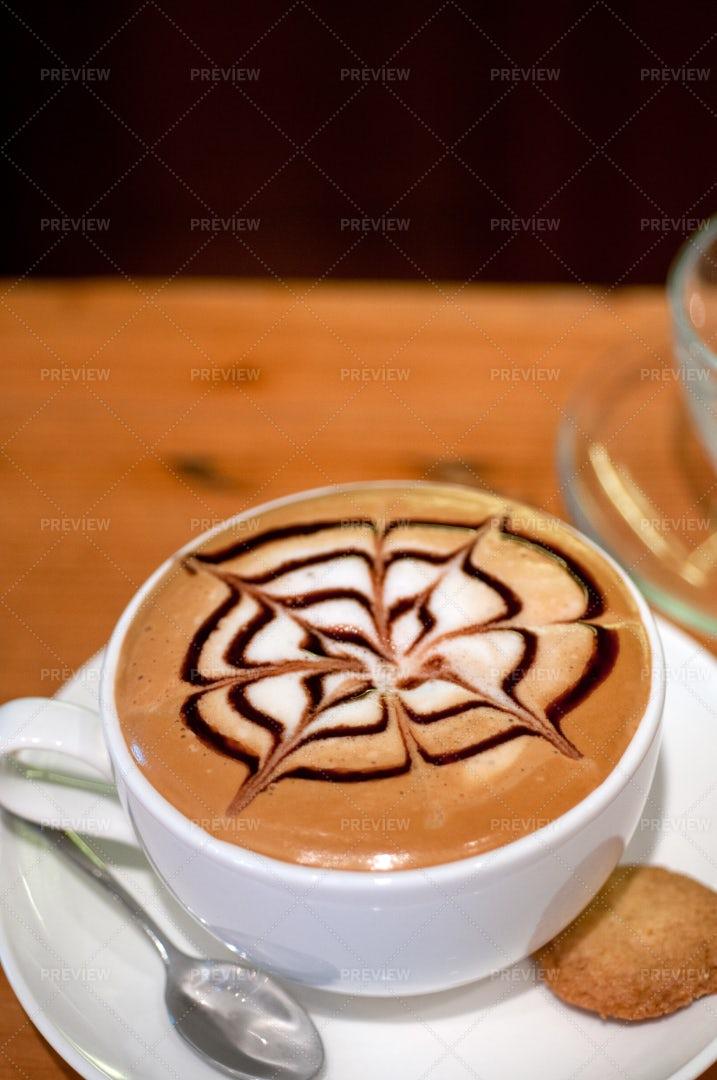 Cappuccino Cup: Stock Photos