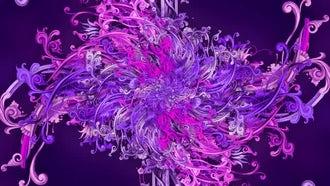 Art Nouveau Flower Kaleidoscope: Motion Graphics