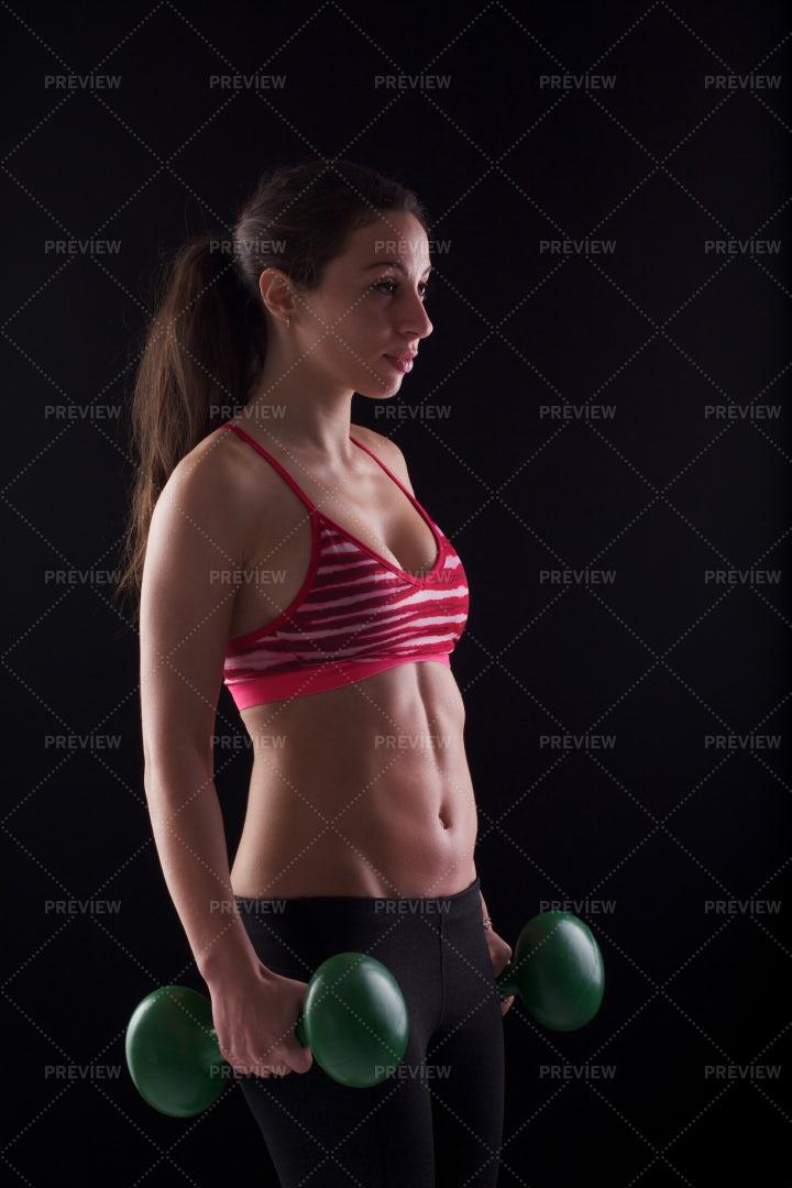 Fit Woman Portrait: Stock Photos