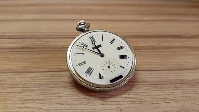 Antique Stop Watch : Stock Video