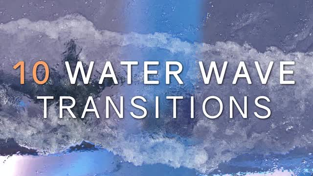 Water Wave Transitions Pack 3 162673