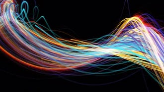 Minimalist Bright Color Streaks: Motion Graphics