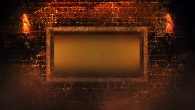 The Battle Wall Background: Stock Motion Graphics