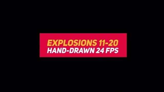 Liquid Elements 2 Explosions 11-20: Stock Motion Graphics