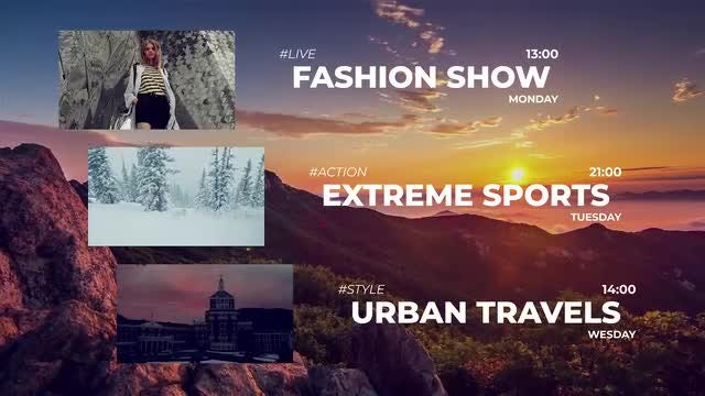 Broadcast: After Effects Templates
