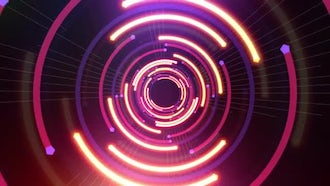 Zero Light VJ Background: Motion Graphics