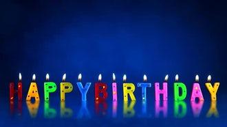Happy Birthday: Motion Graphics