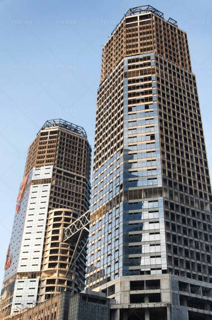 Building Under Construction: Stock Photos