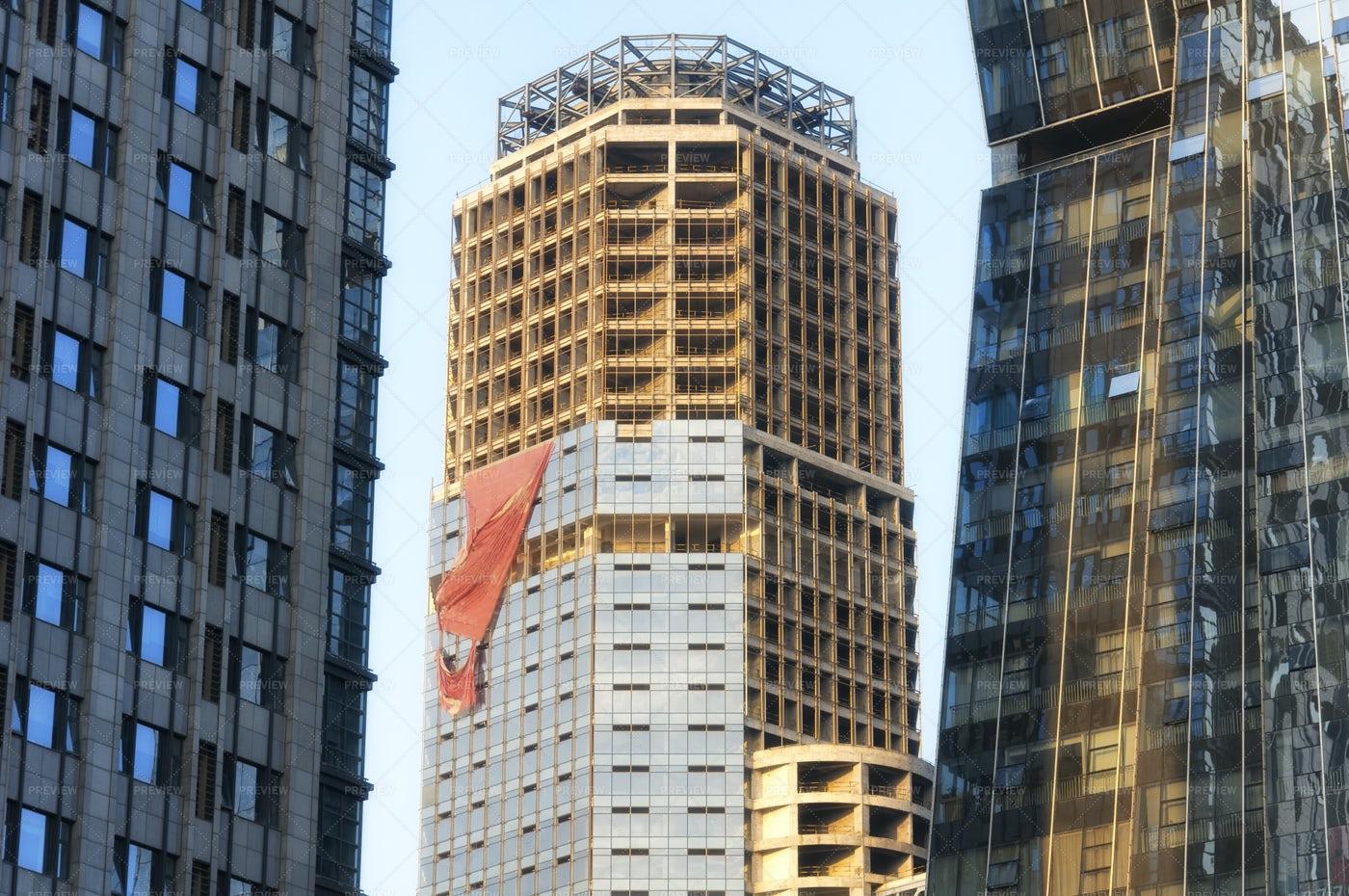 Shaoxing China Cityscape: Stock Photos