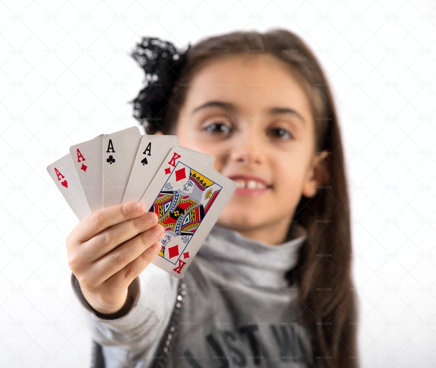 Winning Poker Hand: Stock Photos