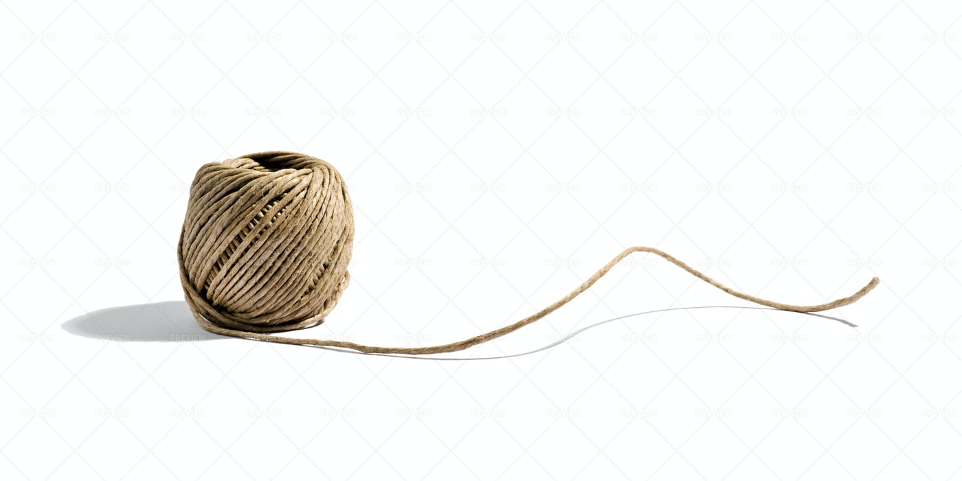 Natural Household Twine: Stock Photos