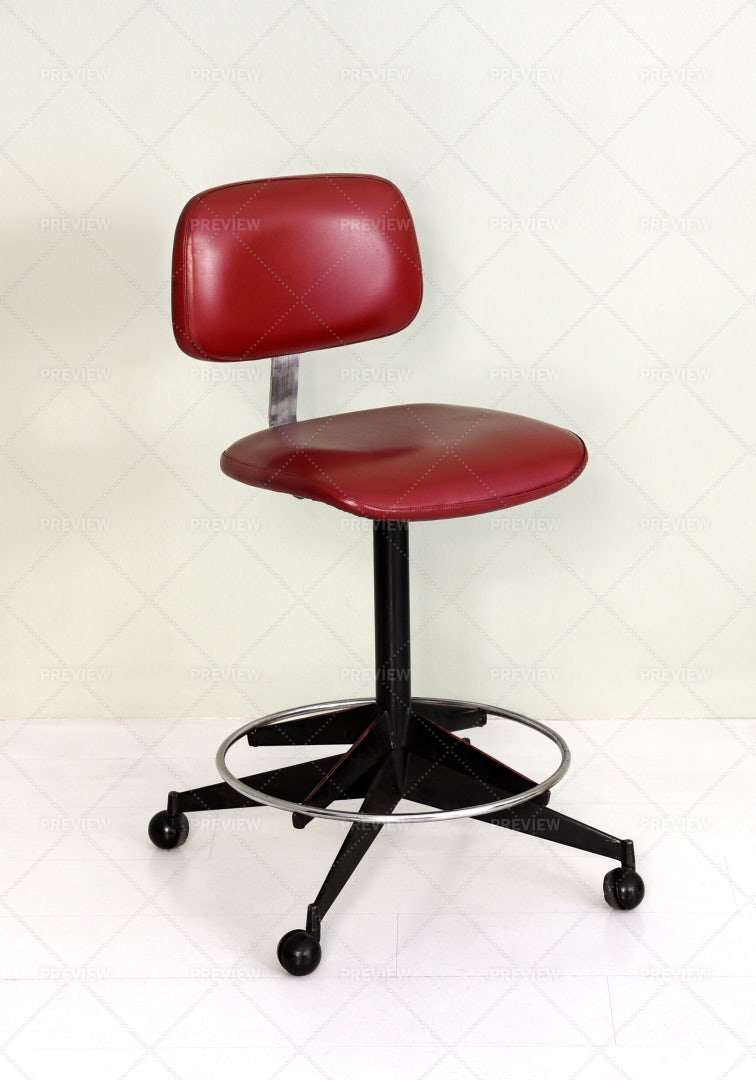 Retro Office Chair: Stock Photos