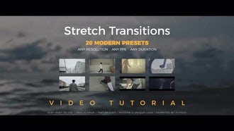 Stretch Transitions Presets: Premiere Pro Presets